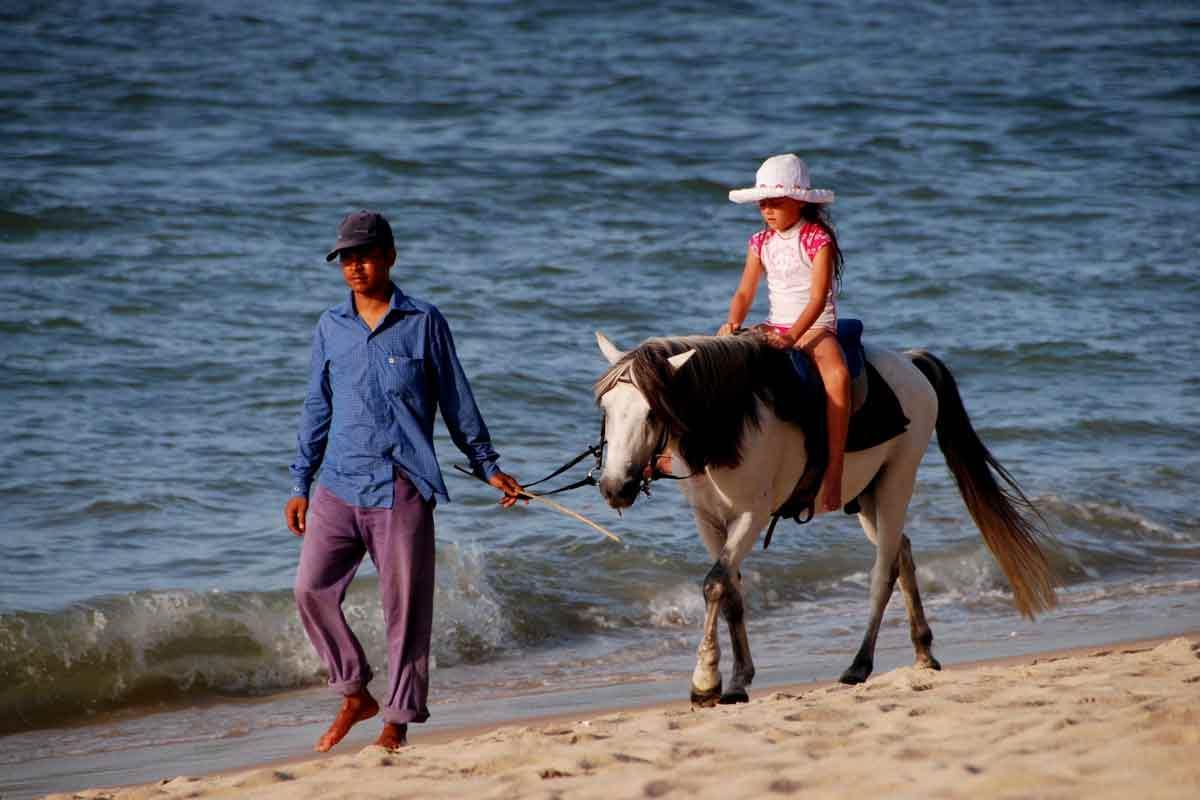 Horseback Riding - little-girl-on-guided-horse